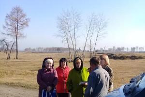 Выезд мобильной социальной службы в п. Белогорск